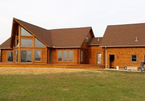 Sandusky Ohio, Log Home after Complete Restoration