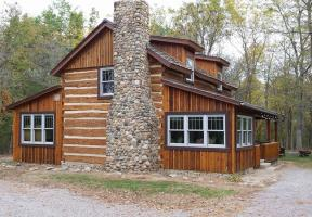 Ottawa Ohio, Log Home Restored